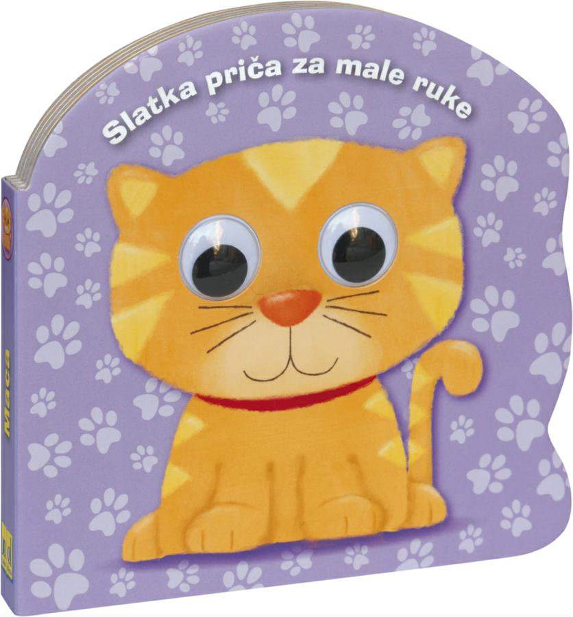 Velika djevojčica mala maca